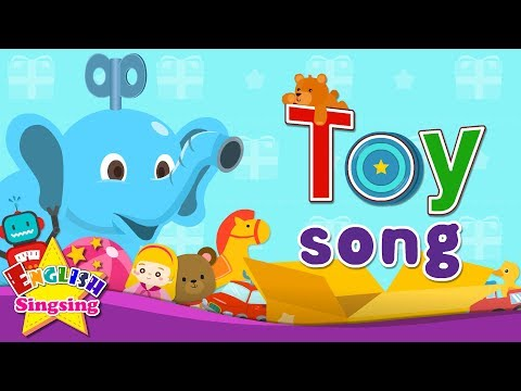 Toy Song - Educational Children Song - Learning English For Kids
