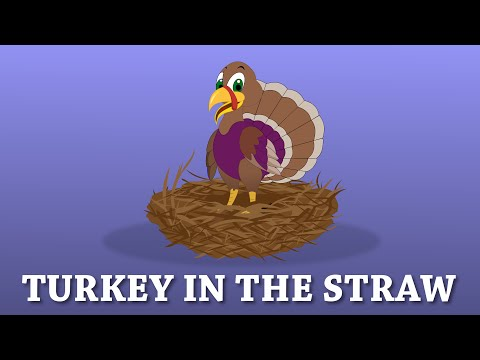 Turkey In The Straw Song With Lyrics | American Folk Songs | Old Time Folk Music