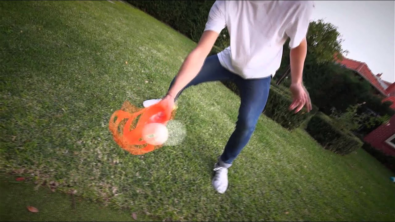 PPG - NERF OUTDOOR SPORTS - LIGHTNING SCOOP TOSS - YouTube