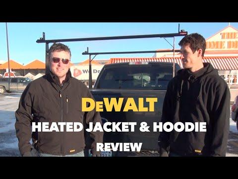 DeWalt Heated Jacket & Heated Hoodie Review 12V/20V Max
