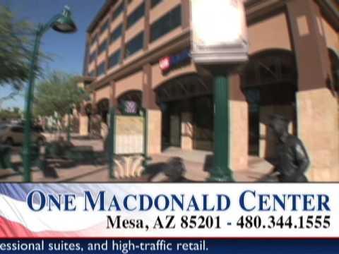 Mesa Arizona Professional Office Space For Rent - One Macdonald Center Video Tour - Mesa, AZ