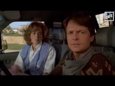Marty McFly Drag Races Donald Trump in Back to the Future Part III
