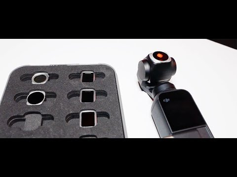 The DJI Osmo Pocket Filters! Footage & Review!
