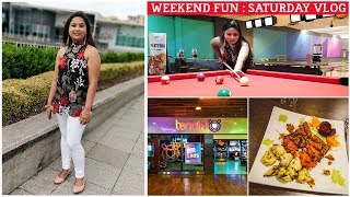 WHAT WE DO ON A SATURDAY ?? FUN ACTIVITIES AT TENPIN || BENGALI STYLE MACHER JHOL