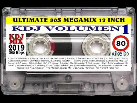 Ultimate 80s Megamix 12 inch   KDJ 01