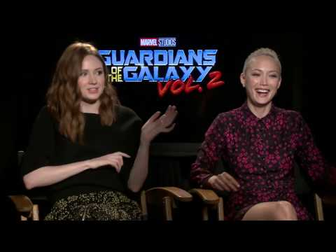 Guardians of the Galaxy Vol. 2 Interview - Karen Gillan & Pom Klementieff