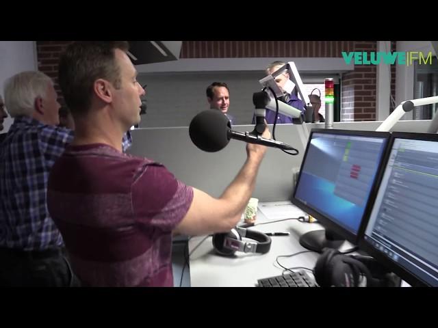 VeluweFM: Opening nieuwe studio in Harderwijk