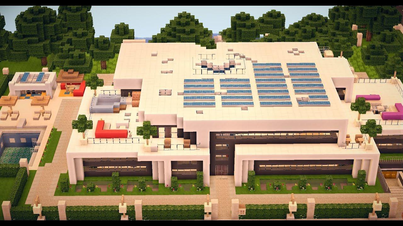 minecraft modern house 012 hddownload  youtube