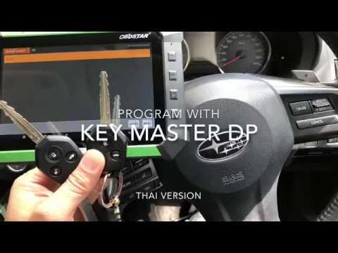 Program Chip G 4D 80BITS Subaru XV 2014 with Key Master DP by Pollert