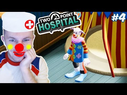 ЛЕЧИМ КЛОУНИЗМ В ГОСПИТАЛЕ | Two Point Hospital #5
