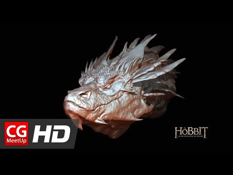 """Zbrush Speed Sculpt Smaug Modeling"" By Moum Brush 