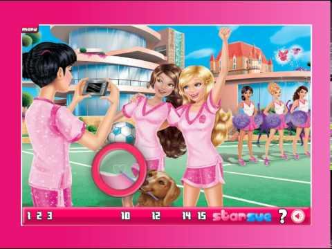Barbie Princess Charm School Video Play Girls Games Online