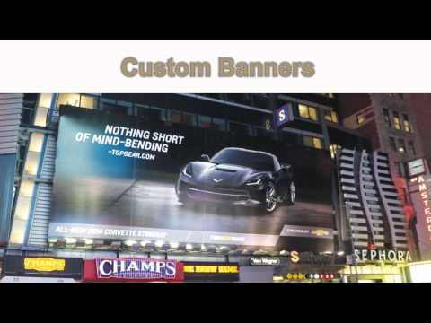 Banner Printing NYC - Custom Banners And Cheap Banner Printing