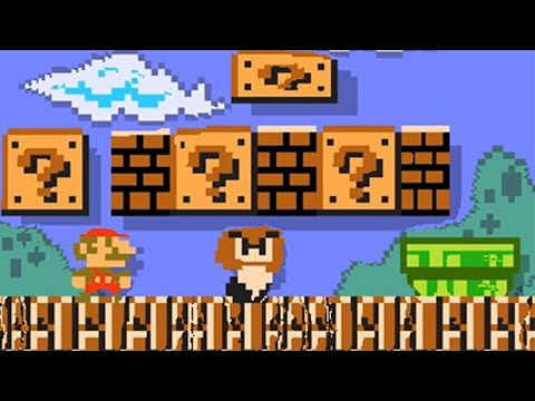 Super Mario Maker 2 course maker recreates 1-1 from Hell