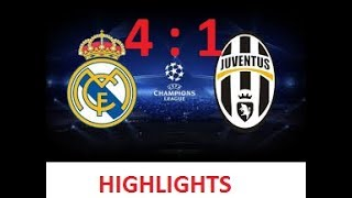 CHAMPIONS LEAGUE FINAL LIVE | JUVENTUS VS REAL MADRID |  uefa champions league | full highlights