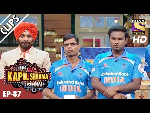 Blind T20 World Champions with Kapil's Crazy Gang  – The Kapil Sharma Show - 5th Mar 2017