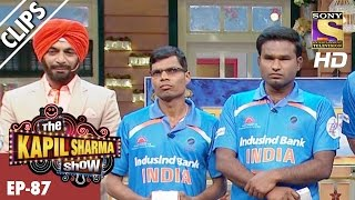 Blind T20 World Champions with Kapil
