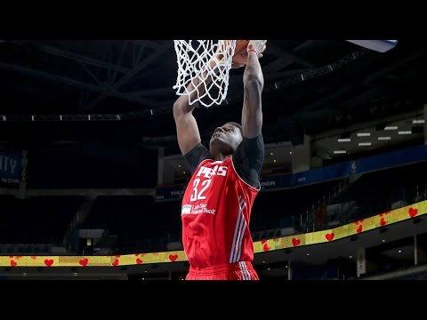 Rockets Rookie Clint Capela -- 2014-15 NBA D-League Season Highlights