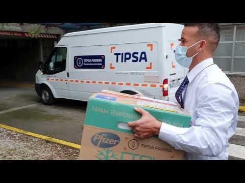 VIDEO Ya llegaron a Asturias las primeras vacunas contra el COVID