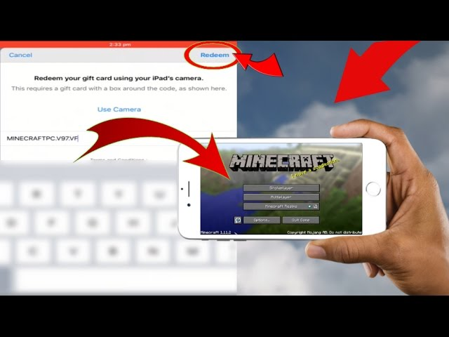 Redeem This Code To Play Minecraft Pc On Your Device For Free Appstore Glitch Youtube