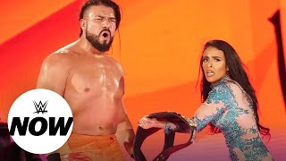 Andrade to defend the United States Title at Royal Rumble: WWE Now, Jan. 21, 2020