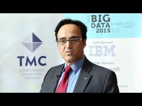 Dr Mouwafac Sidaoui speaks in Arabic about GCC Big Data 2015