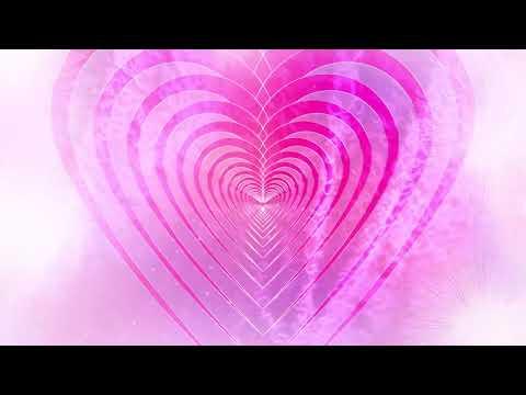 Pink Heart Motion HD Video Background | DMX HD BG 287
