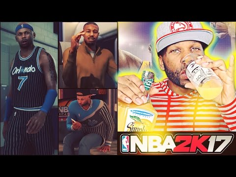 Custom Shot From Jump Shot Creator! Orange Juice Activated! - NBA 2K17 PS4 My Career