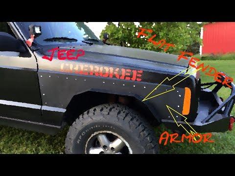Jeep Armor & Flat Fenders  ---- Jeep Cherokee ---
