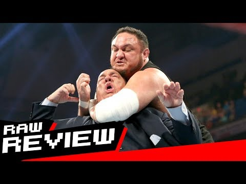REVIEW-A-RAW 6/5/17: Samoa Joe chokes out Paul Heyman, The Miz's celebration goes wrong