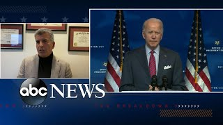 President-elect Joe Biden talks jobs, COVID-19 relief bill