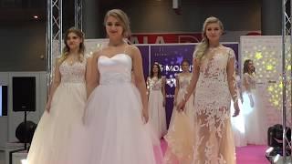 Pokaz sukni ślubnych Celia na targach ślubnych w Kielcach 10.12.2017