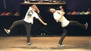 Dance performance Show Ukay & Oomoo - I Love This Dance 2012