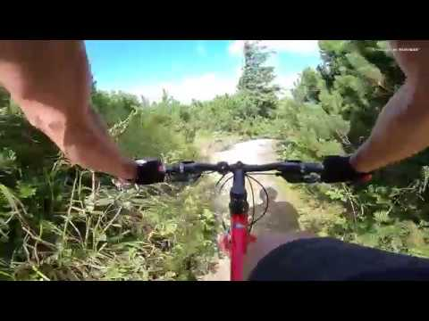 Aventuri pe bicicleta : Atentie la Neatentie in Masivul Ceahlau