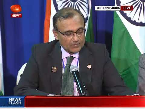 MEA briefs media on BRICS Summit in Johannesburg, South Africa