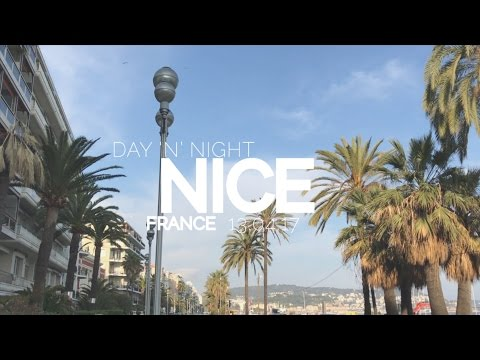 Day 'N' Night in NICE (France) | Europe Roadtrip