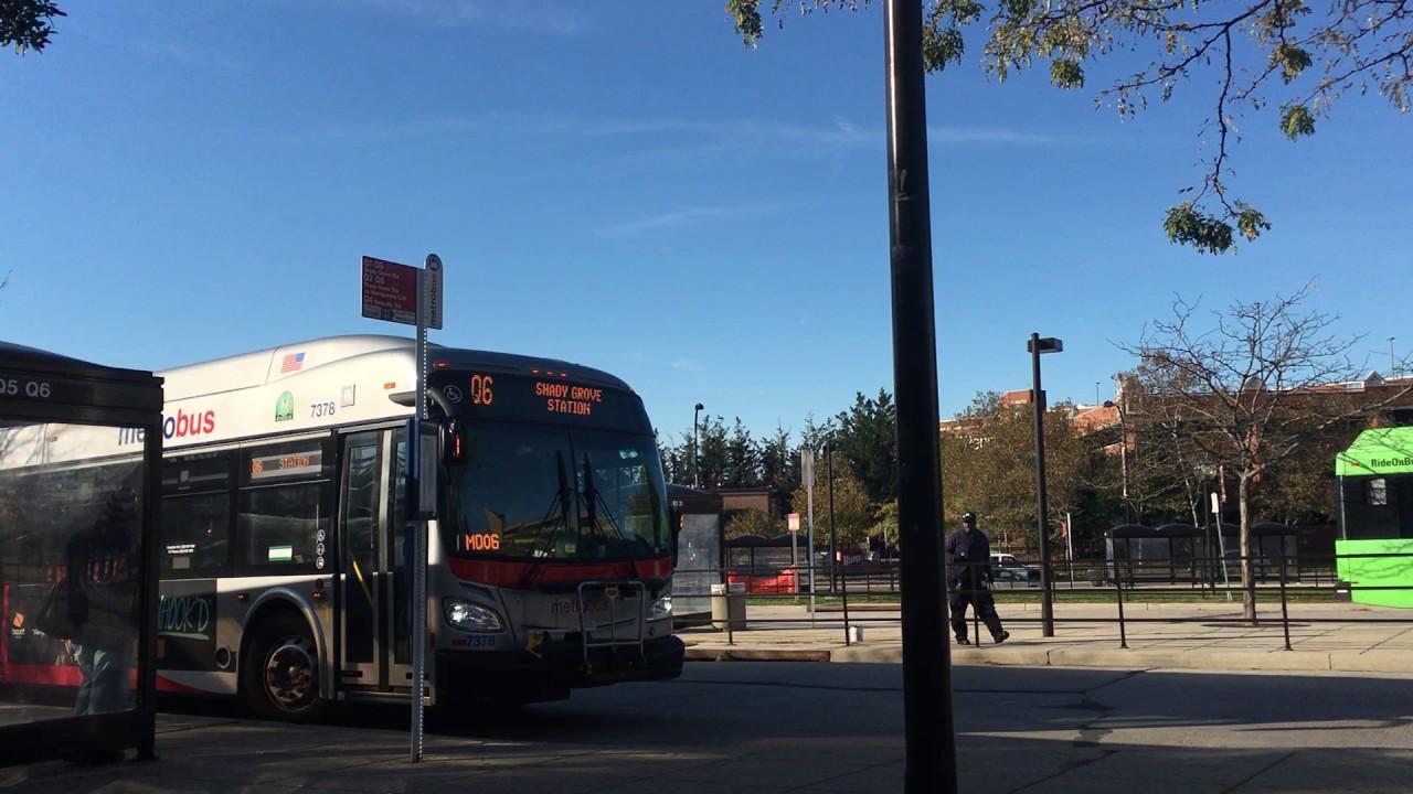 Q6 metro bus schedule