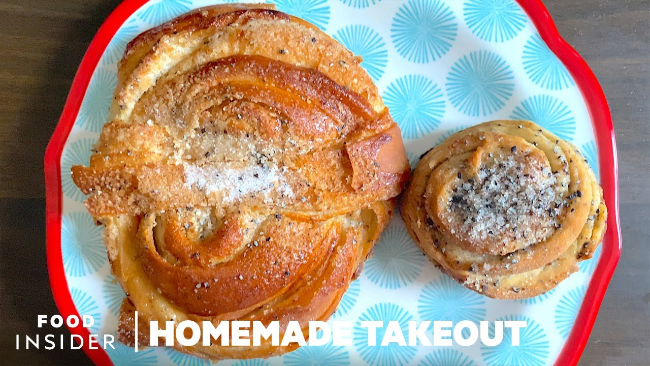 Famous Swedish Cardamom Buns | Homemade Takeout