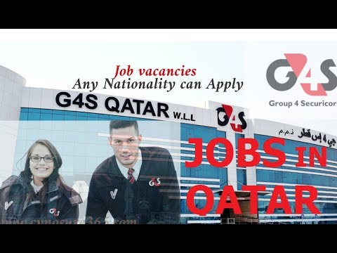 GET JOB IN QATAR // URGENT REQUIREMENT //AUGUST 2018