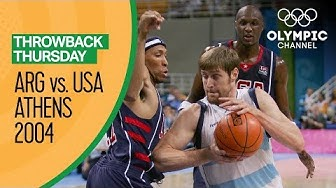 Argentina v USA - Semi Final | Athens 2004 - Condensed Game | Throwback Thursday