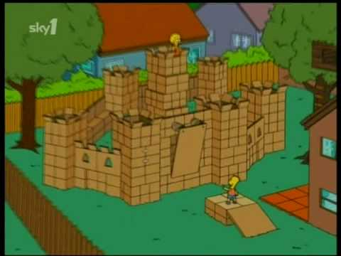 simpsons Box fort