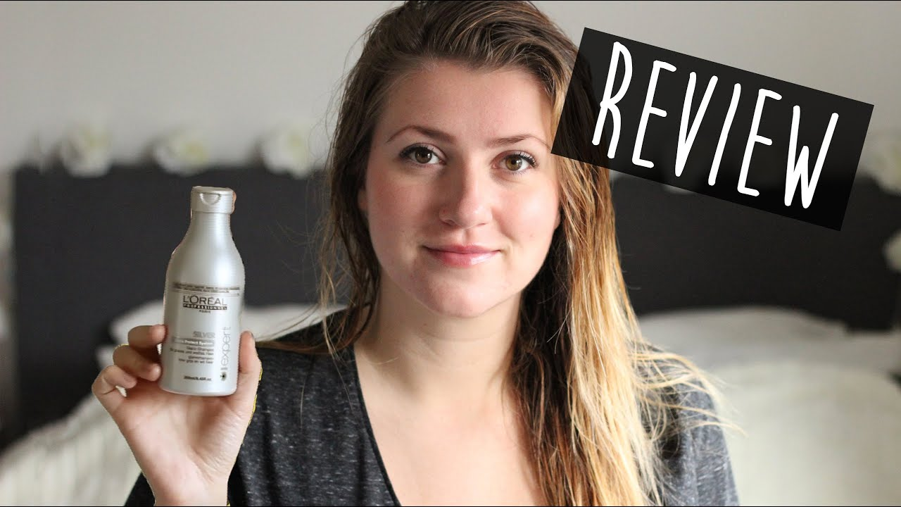 Review Zilvershampoo L Oreal Denise Youtube