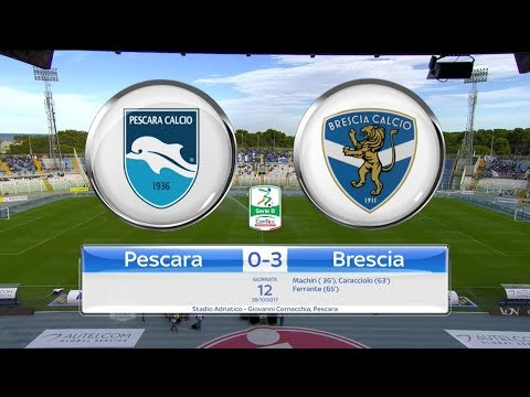 PESCARA - BRESCIA 0-3, gli highlights