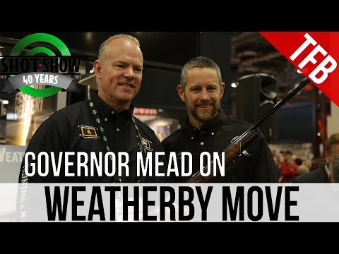 [SHOT 2018] Interview with Gov. Mead of Wyoming on Weatherby Move