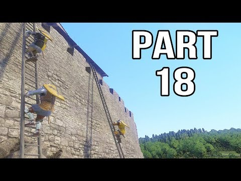 Kingdom Come Deliverance Gameplay Walkthrough Part 18 - Trebuchet Attack