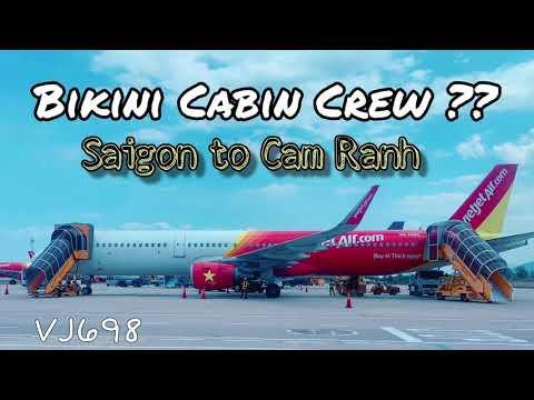 VietJet Air | Bikini Airlines? Ho Chi Minh to Cam Ranh (Nha Trang)