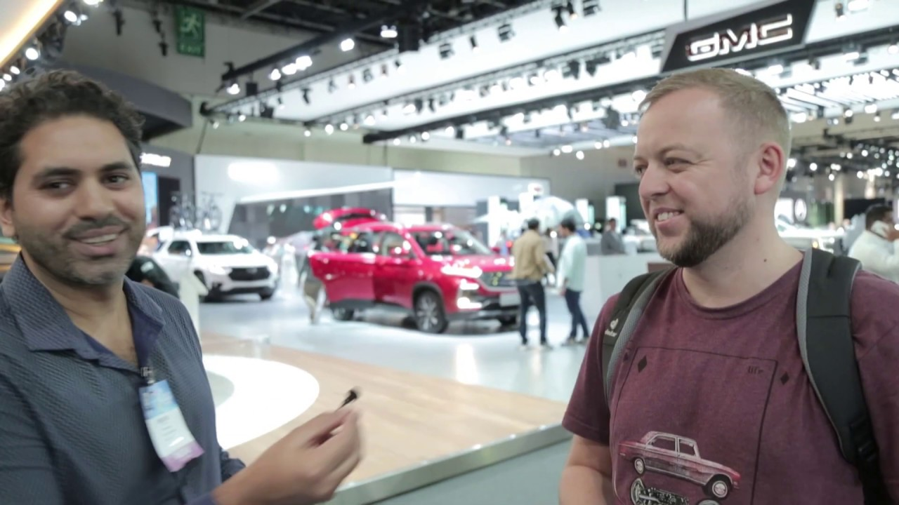 Take a tour with us of the 2019 Dubai International Motor Show!