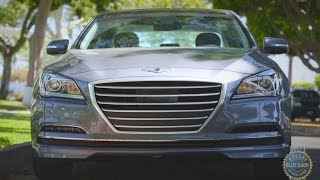 2016 Hyundai Genesis Review and Road Test смотреть