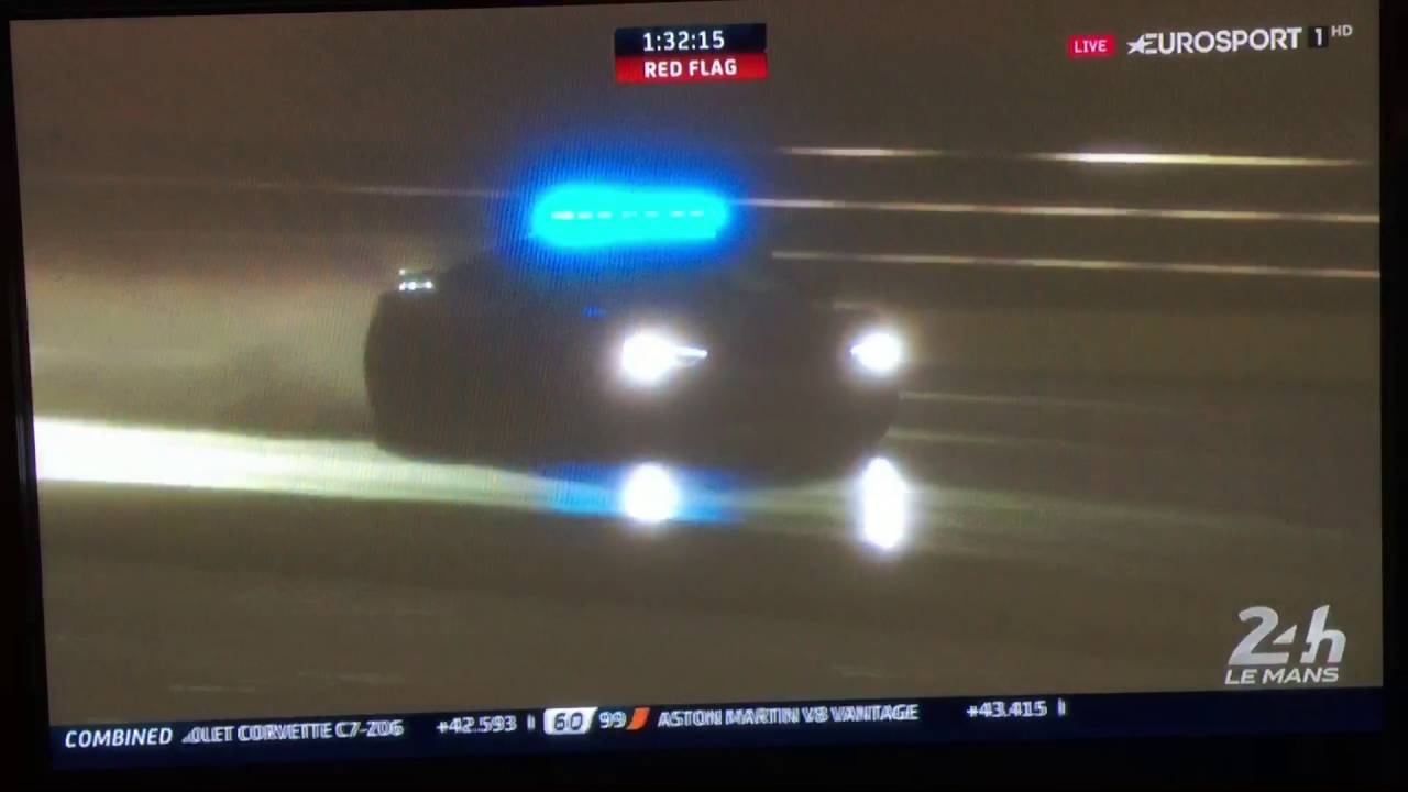 Le Mans 2016 Safety Car Hero Youtube