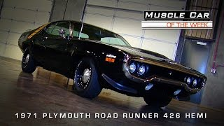 1971 Plymouth Road Runner 426 Hemi Muscle Car Of The Week Video #63